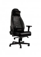 Noblechairs Icon Series Real Leather Gaming Chair - Black