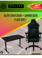 RAZER ISKUR + GAMING TABLE